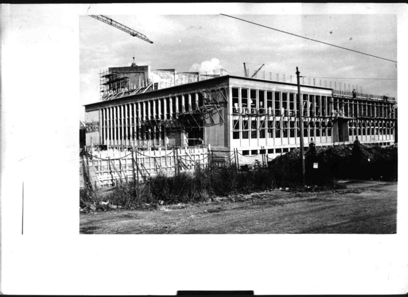 Neubau des Forschungsreaktors in der Schüttelstraße