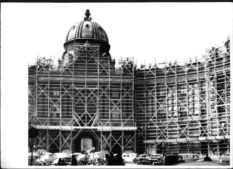 Bauarbeiten Hofburg