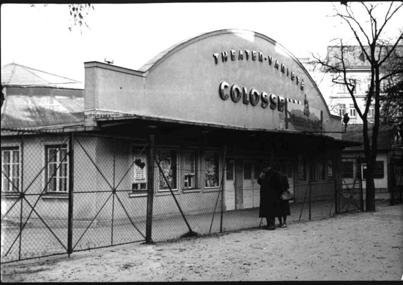Das Wiener Theater-Variete-Colosseum vor dem Abbruch