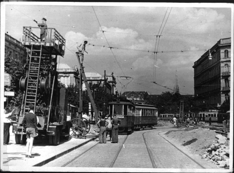 Bauarbeiten in der Babenbergerstraße