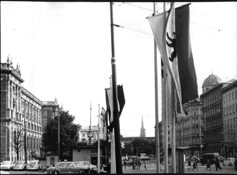 Besuch des Berliner Bürgermeisters Willy Brandt
