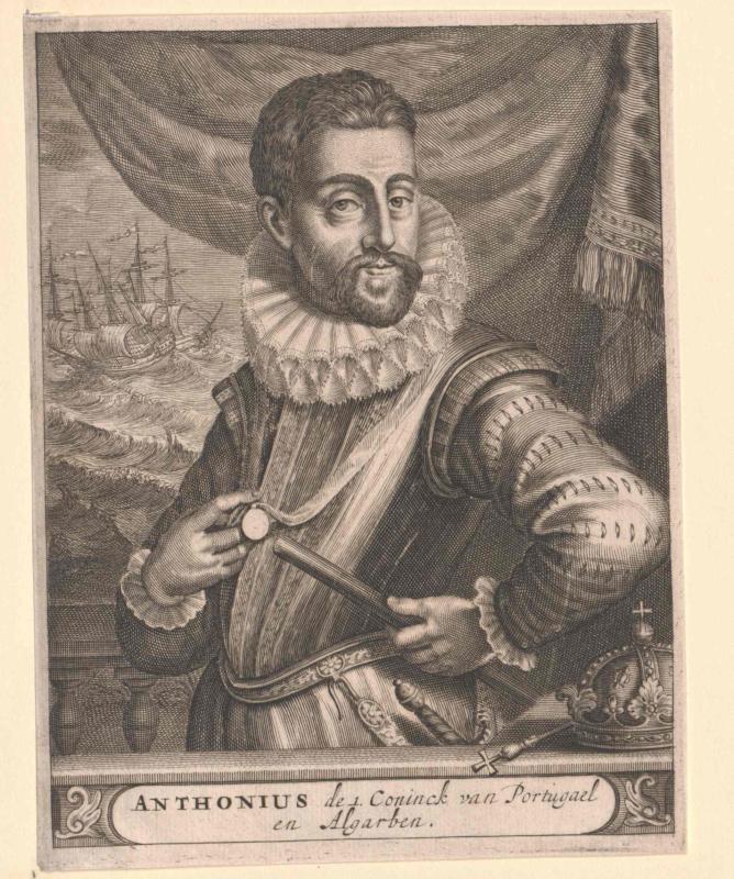 Anton der Unechte, König von Portugal