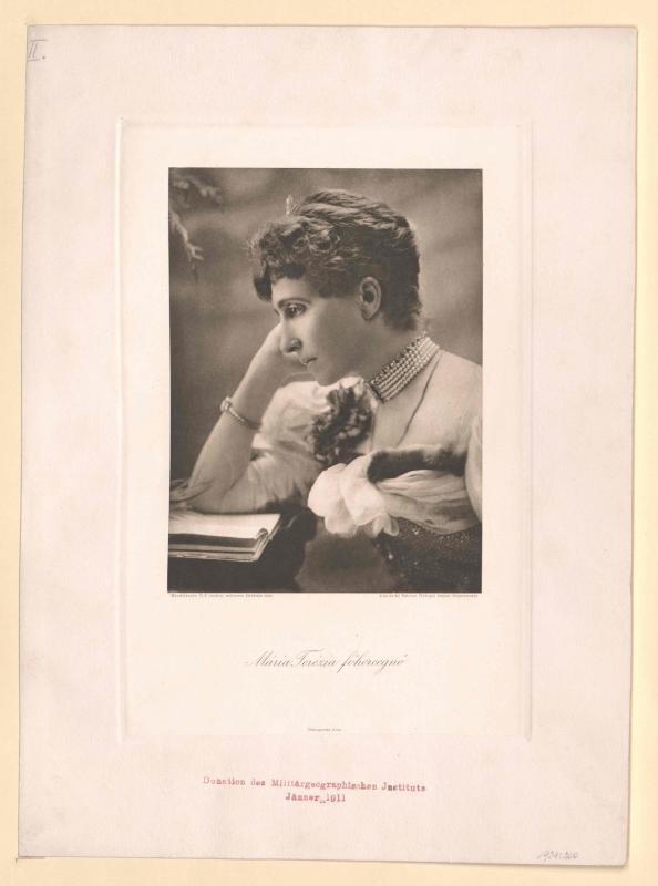 Maria Theresia von Braganza, Infantin von Portugal