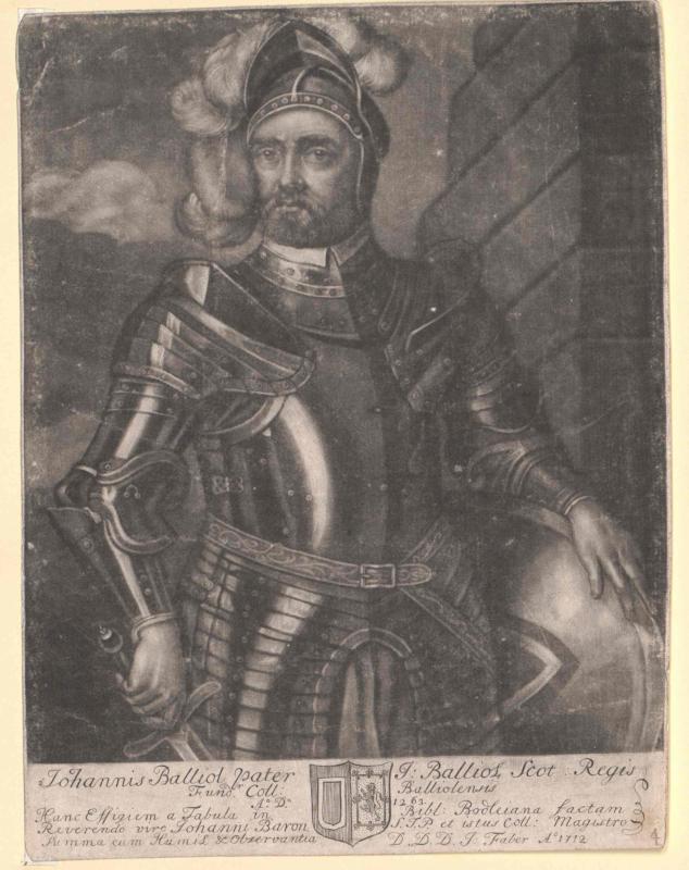 Balliol, Johann Comte d´Harcourt