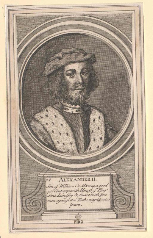 Alexander II., König von Schottland