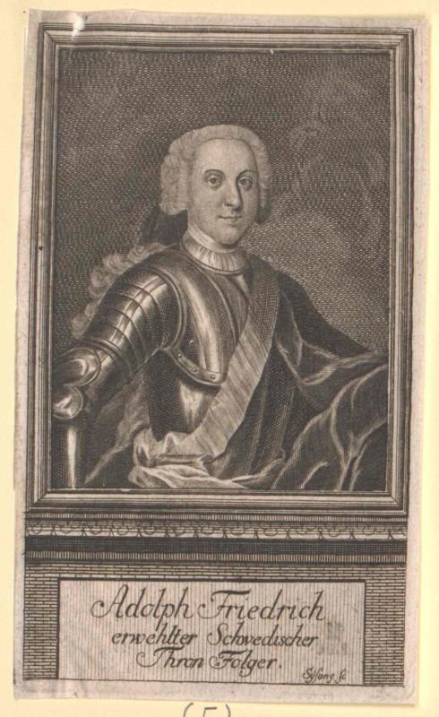 Adolf Friedrich, König von Schweden