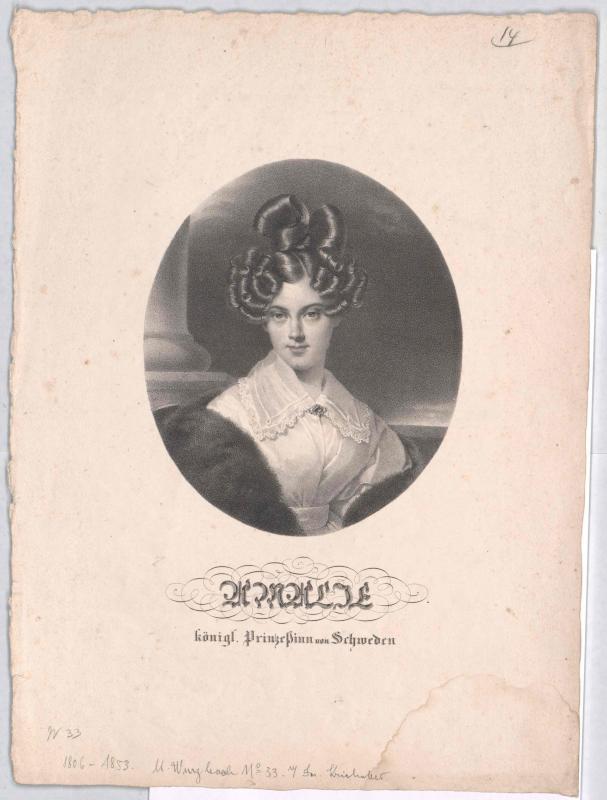Amalie Marie Charlotte, Prinzessin von Schweden