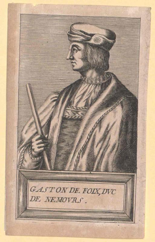 Foix, Duc de Nemours, Gaston de
