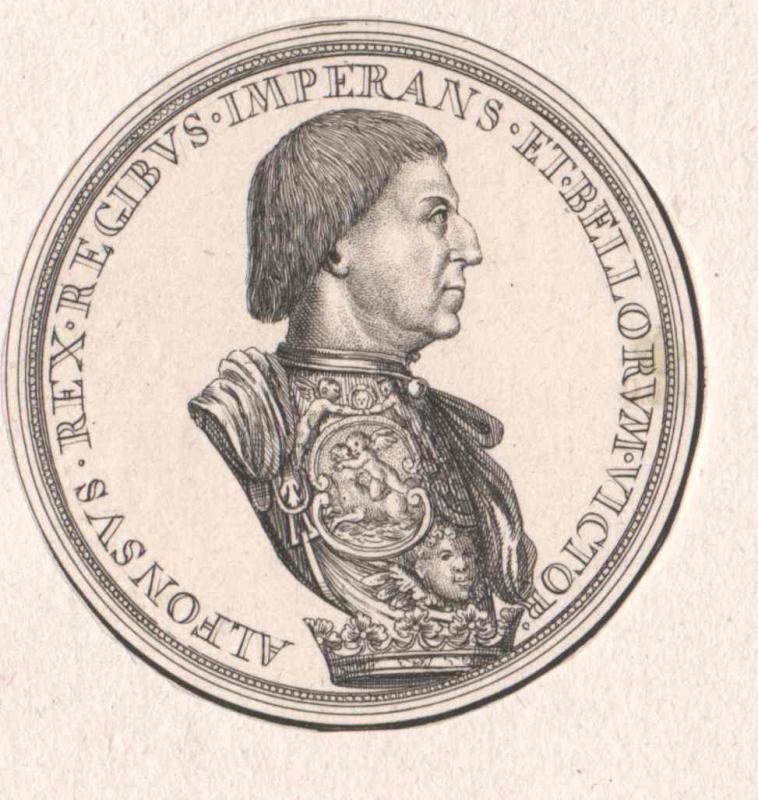Alfons V., König von Aragonien König von Neapel-Sizilien