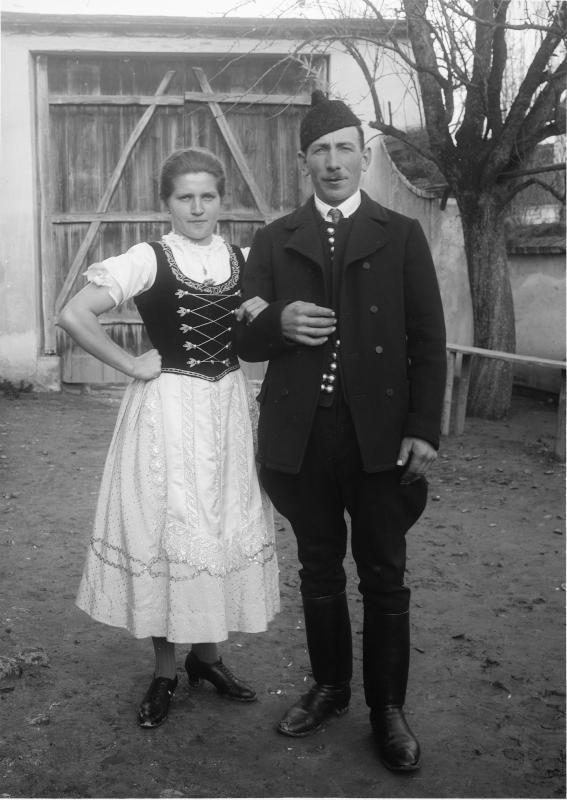 Brautpaar aus dem Bauernstand