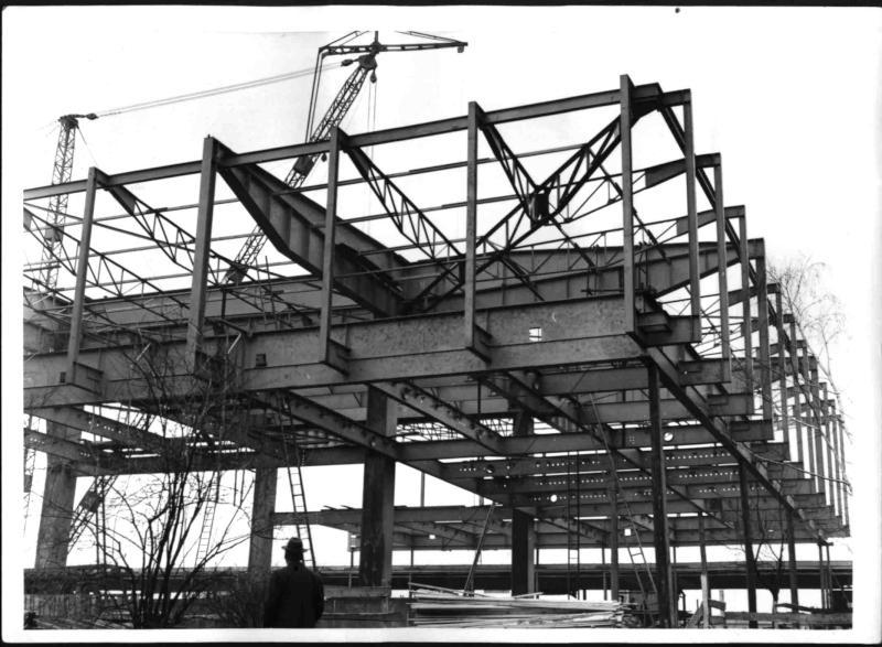 Bau des Museums des 20. Jahrhunderts