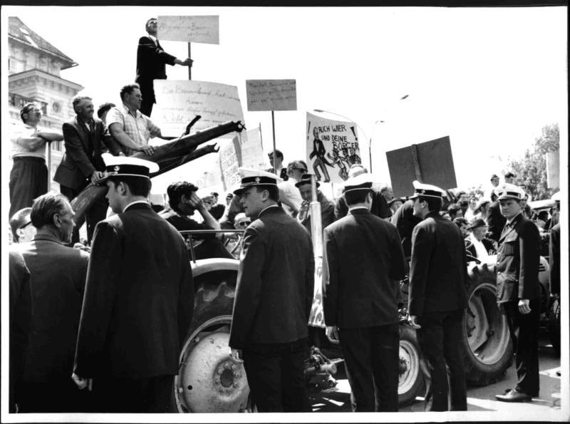Bauerndemonstration