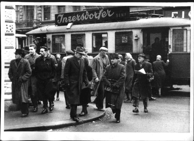 Arbeitslosen-Auszahlungsstelle Thaliastraße