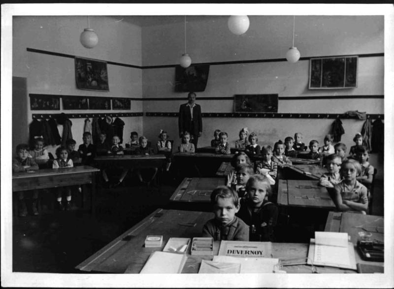 Schüler in der Benedikt-Schelling-Schule