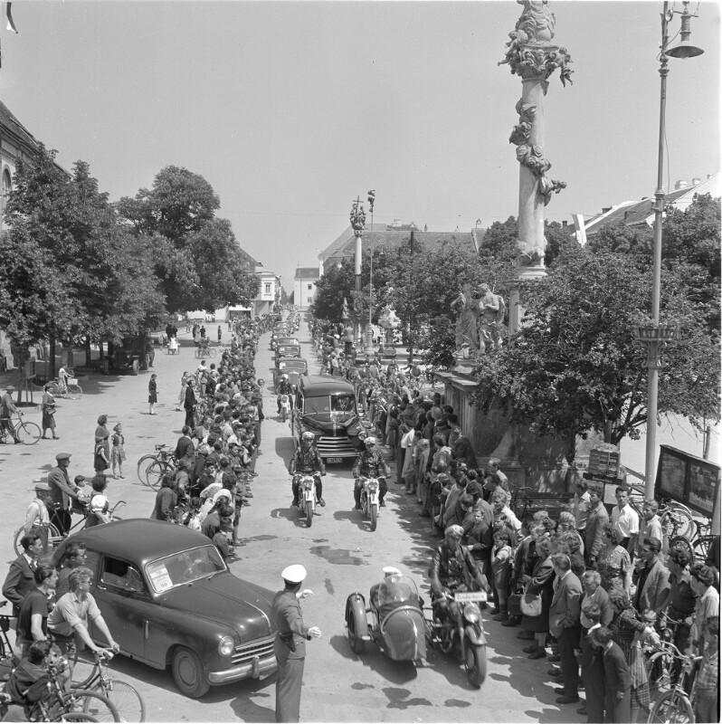 Überführung des Totenschädels von Joseph Haydn in Eisenstadt