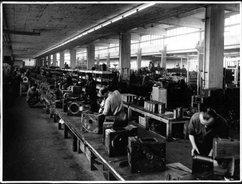 Fabrikshalle