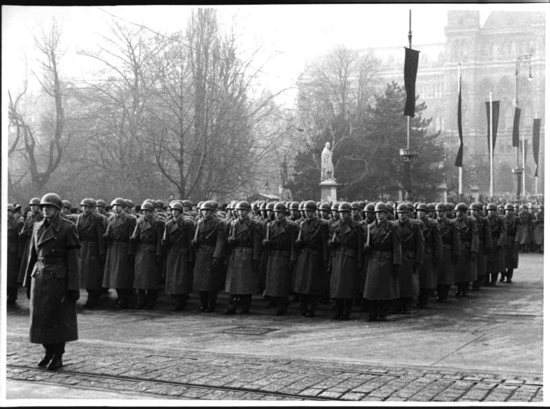 Begräbnis Körner (Bundesheer-Formation)