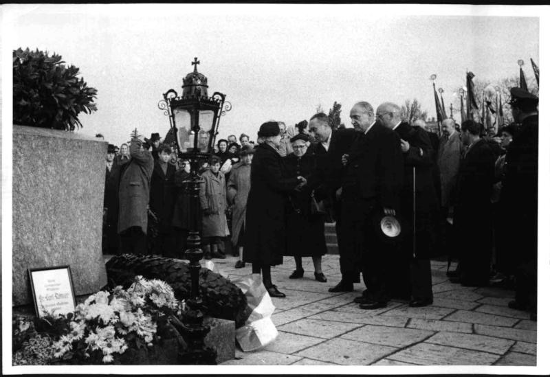 Allerheiligen-Gedenkfeier der SPÖ am Zentralfriedhof