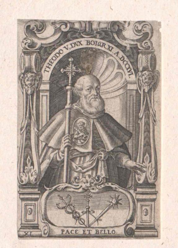 Theodo V., Herzog der Bayern