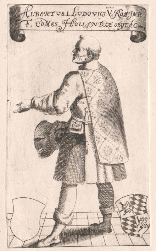 Albrecht I., Herzog von Bayern, Graf von Holland