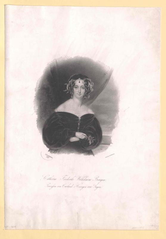 Wilhelmine, Prinzessin von Kurland