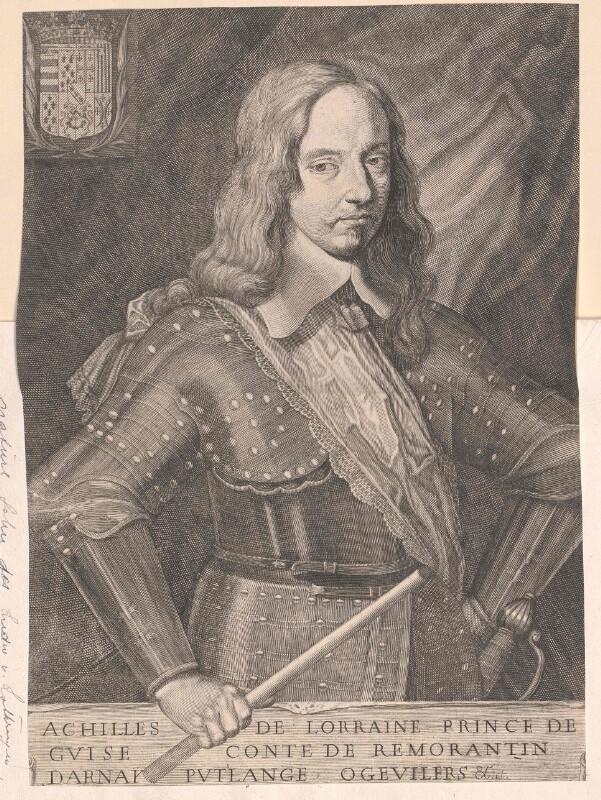 Achille von Lothringen, Prinz von Guise, Graf von Romorantin