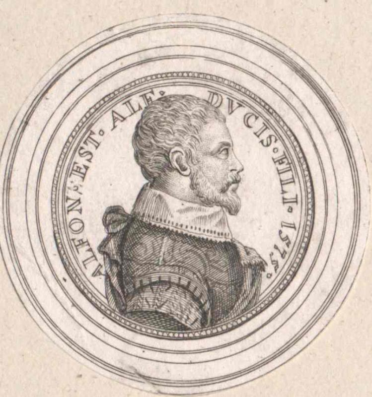 Alfons d'Este, Prinz von Modena