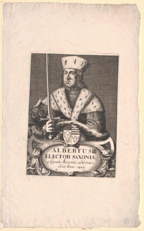 Albrecht III., Kurfürst von Sachsen
