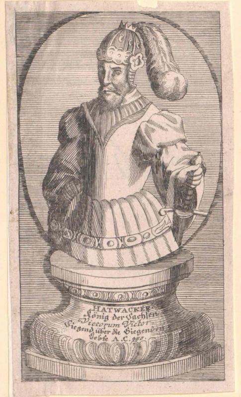 Hartwacker, Fürst der Sachsen