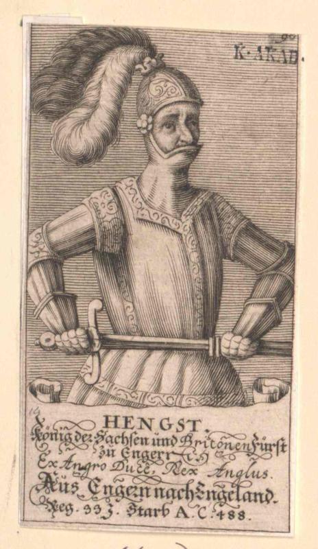 Hengist, König der Sachsen