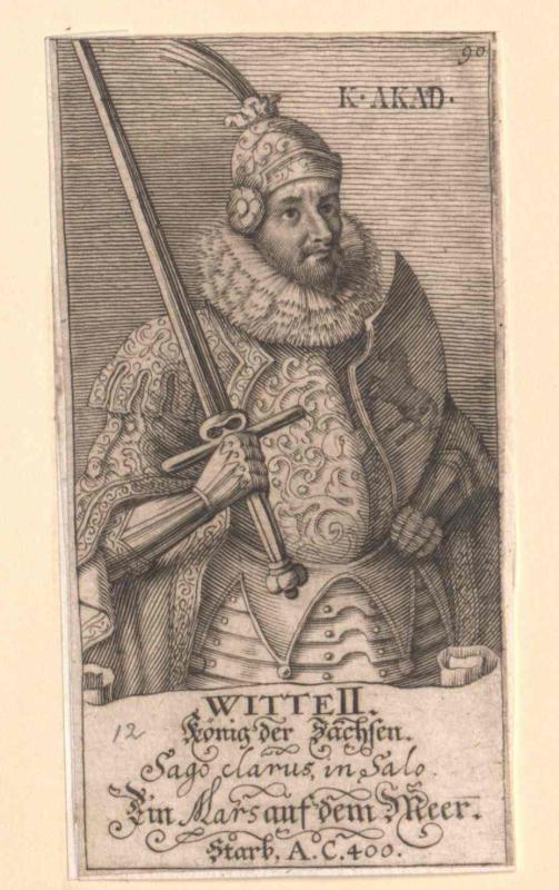 Witte II., König der Sachsen