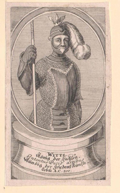 Witte I., König der Sachsen