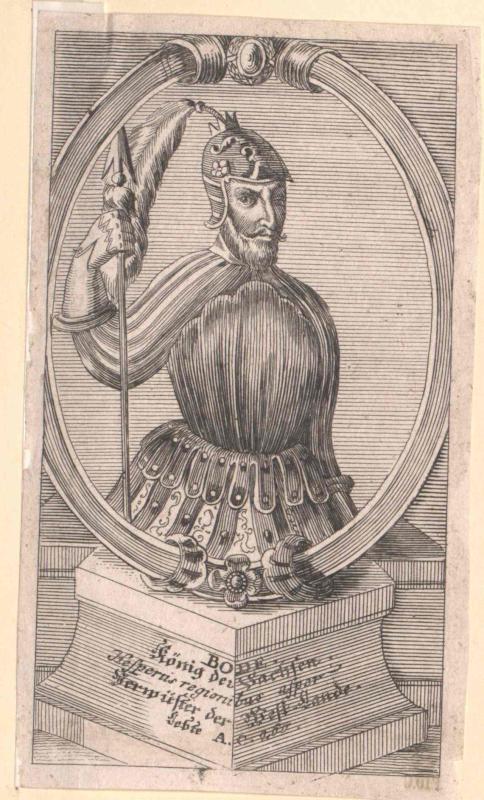 Bodo, König der Sachsen