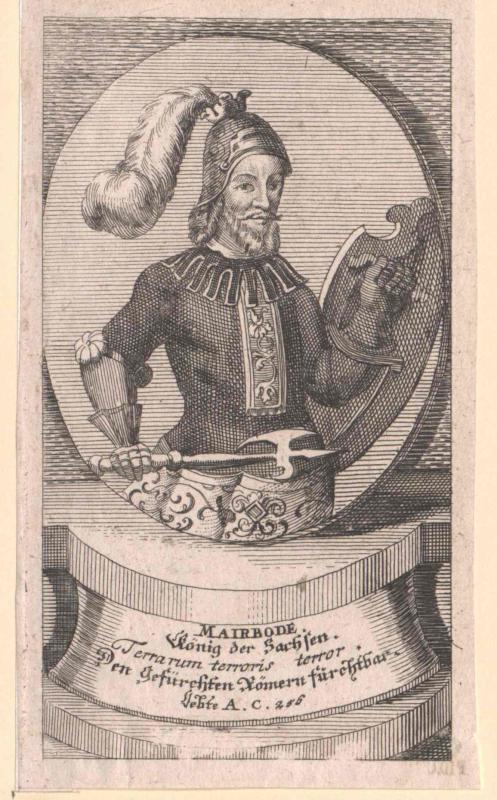Marbod, König der Sachsen