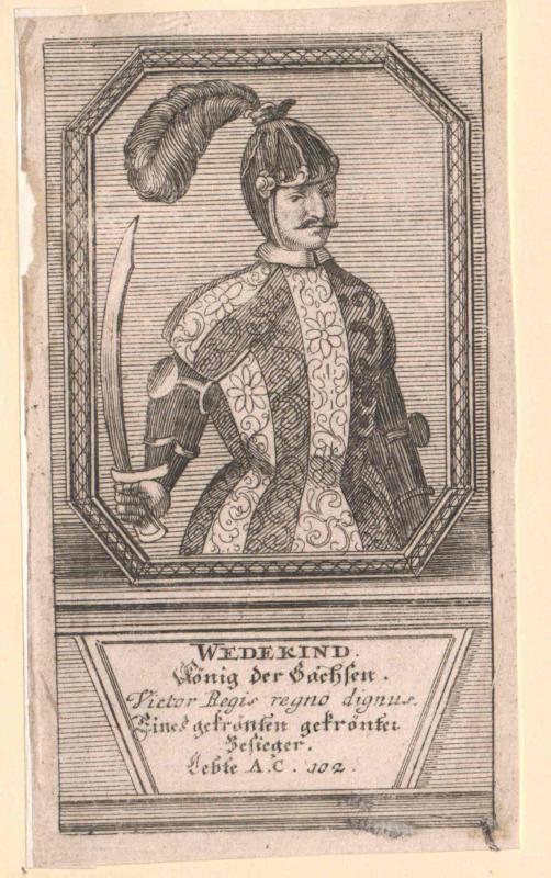 Widukind, König der Sachsen