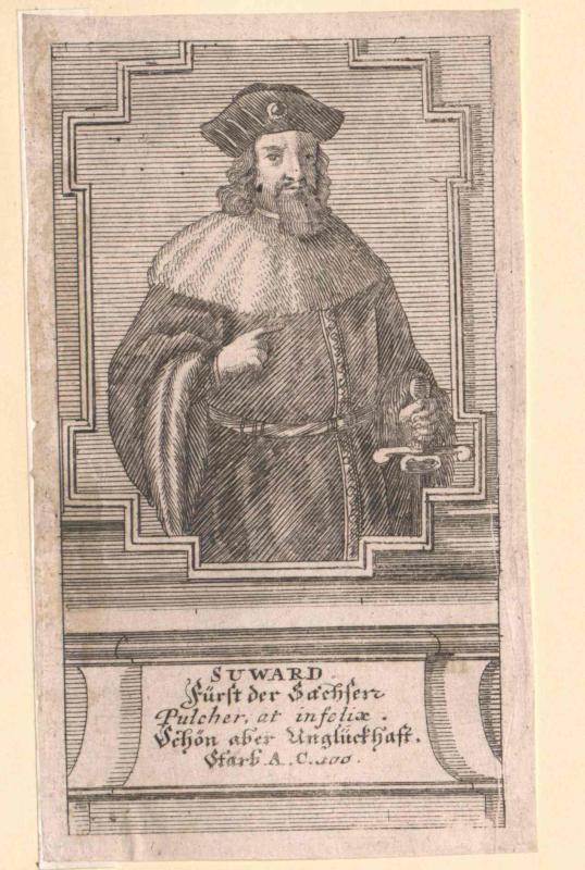 Sigward, Fürst der Sachsen