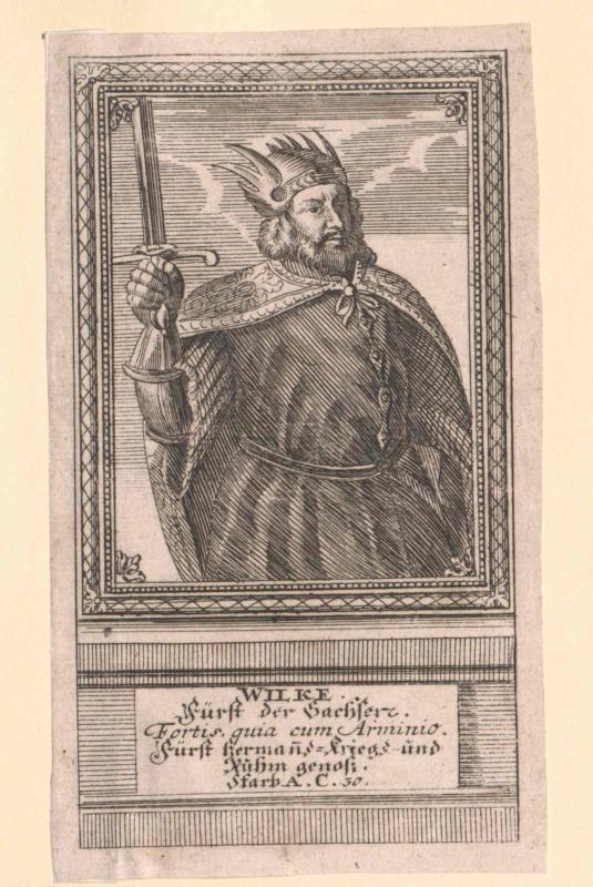 Wilcke I., Fürst der Sachsen