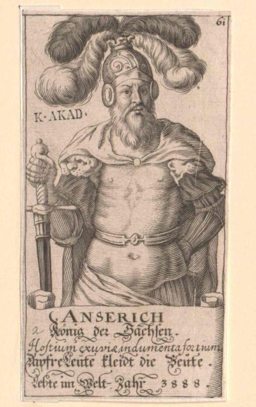 Anserich, König der Sachsen
