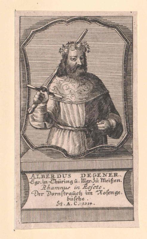 Albrecht der Entartete, Markgraf von Meißen