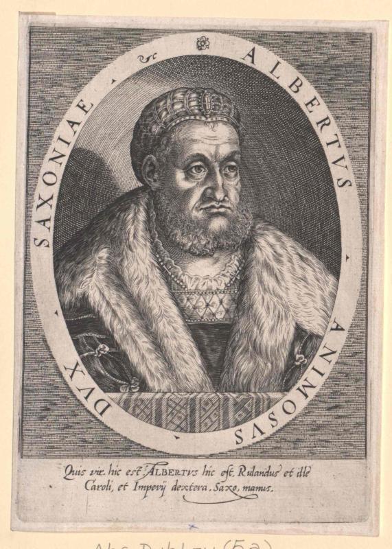 Albrecht der Beherzte, Herzog von Sachsen