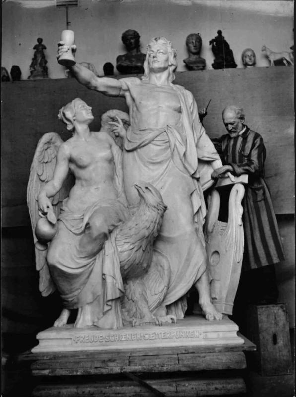 Der Bildhauer Hans Bitterlich