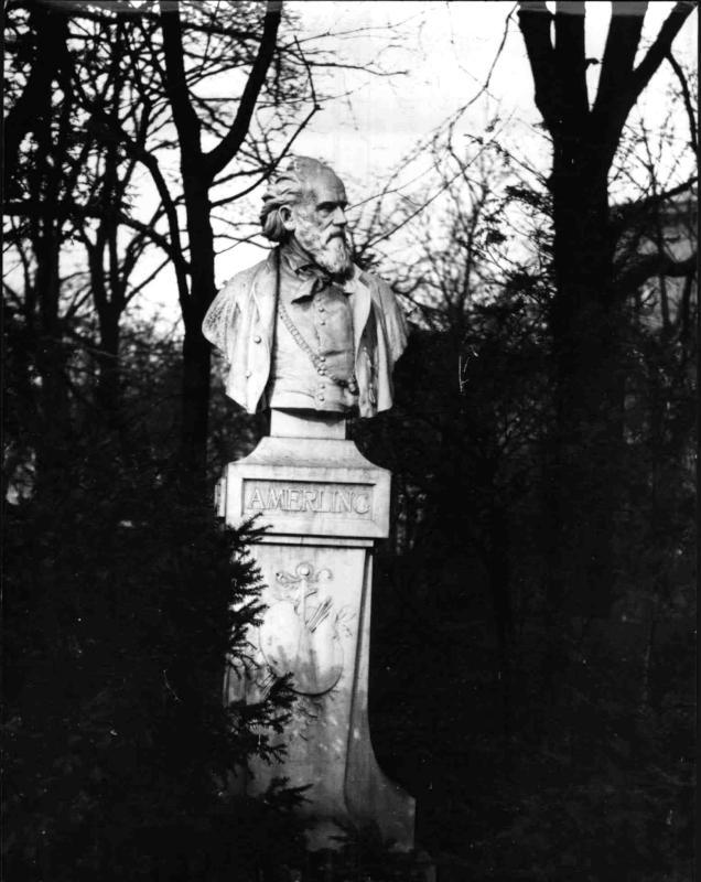 Büste von Friedrich von Amerling