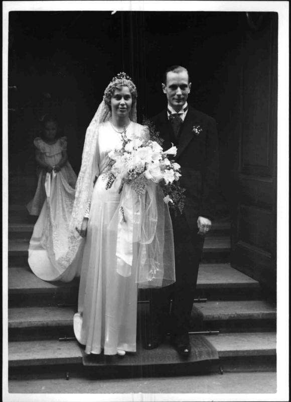 Hochzeit von Klaus v. Bohlen und Halbach