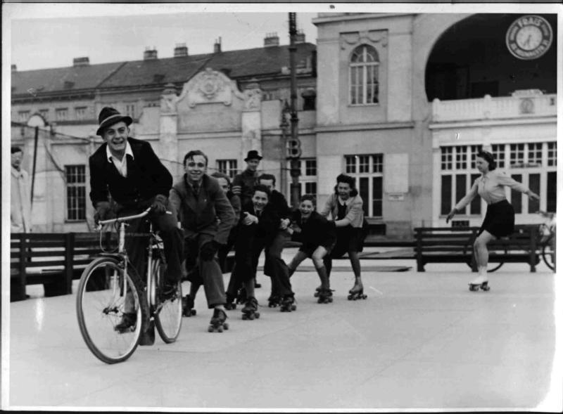 Rollschuhlaufen am Wiener Eislaufverein