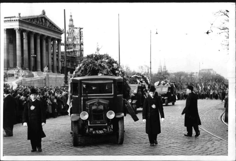 Begräbnis von Paul Speiser