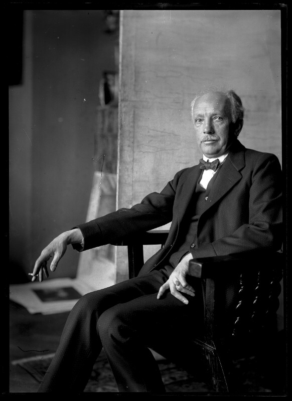 Bildnis Richard Strauss (1864-1949)