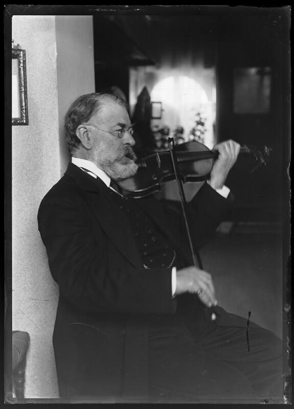 Joseph Joachim, vor 1904©Bildarchiv Austria, ÖNB