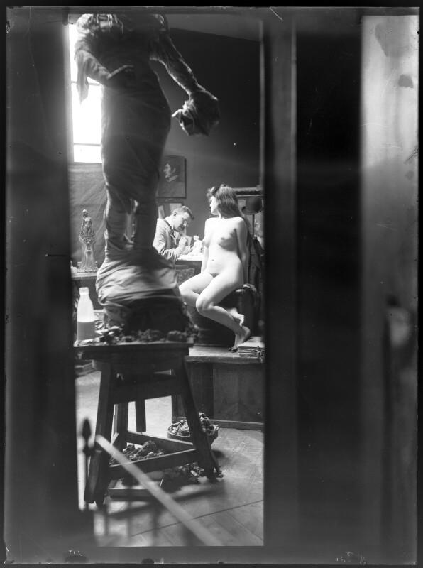 Atelier des Bildhauers Charles Korschann