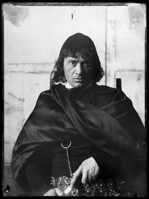 Bildnis Josef Kainz (1858-1910) als Hamlet