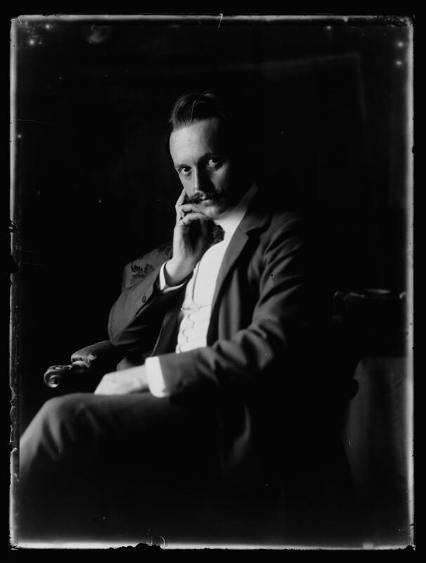 Selbstbildnis Ferdinand Schmutzer (1870-1928)